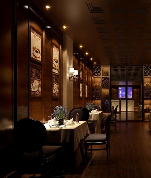 南京西餐厅装修风格设计图片