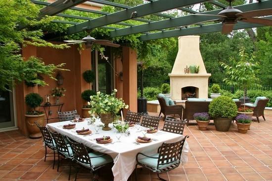 露台花园的装修设计原则