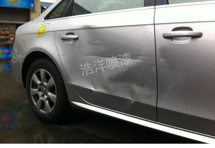 顺德大良汽车专业钣金喷漆 凹槽修复喷漆 车漆快修快补