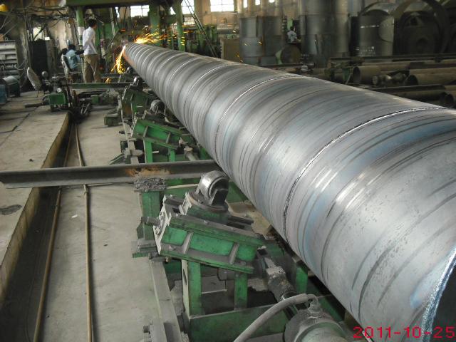 Q345C螺旋缝埋弧焊钢管