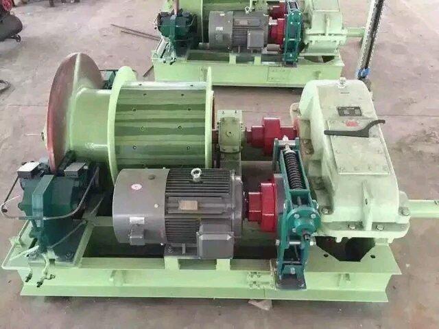 6p变频矿用提升绞车(整体式)0.8米盘形闸绞车图片