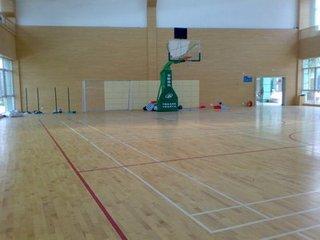生产篮球馆木地板 木地板厂家