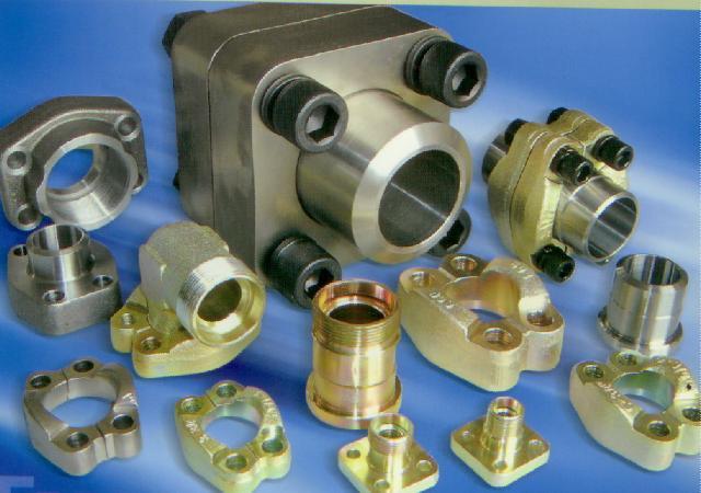 我们主要生产 sae法兰,液压管接头,胶管总成,快速接头,管夹及其非标图片