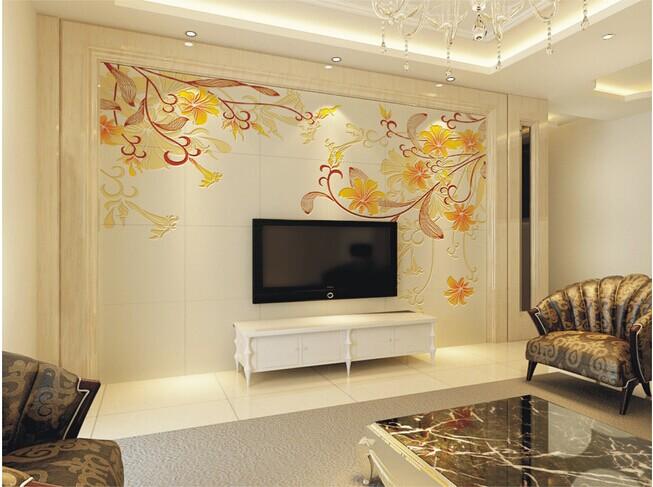 瓷砖电视背景墙颜色怎么搭配?