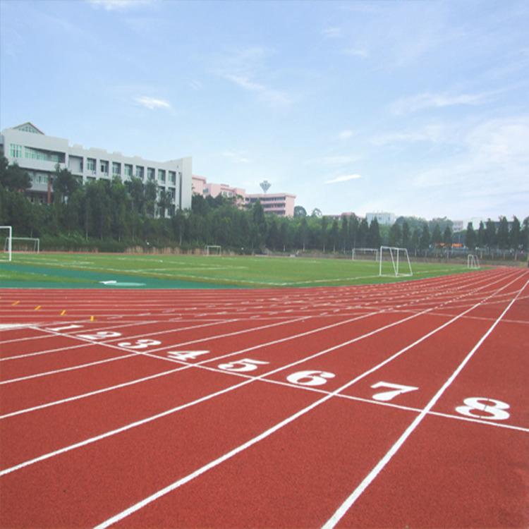 塑胶跑道施工方案 塑胶跑道材料厂家 学校操场跑道维修翻新