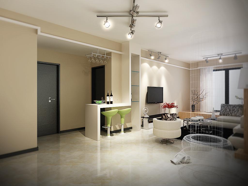 郑州嵩山路小区北欧风格两室两厅