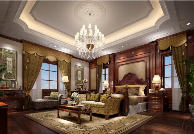 法式风格装修别墅,优雅图片