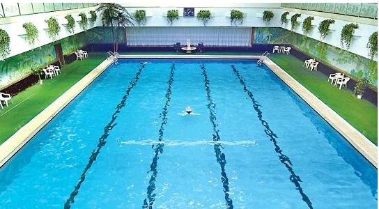 專業別墅泳池洗浴池水處理凈化循環設備 山東威海游泳圖片