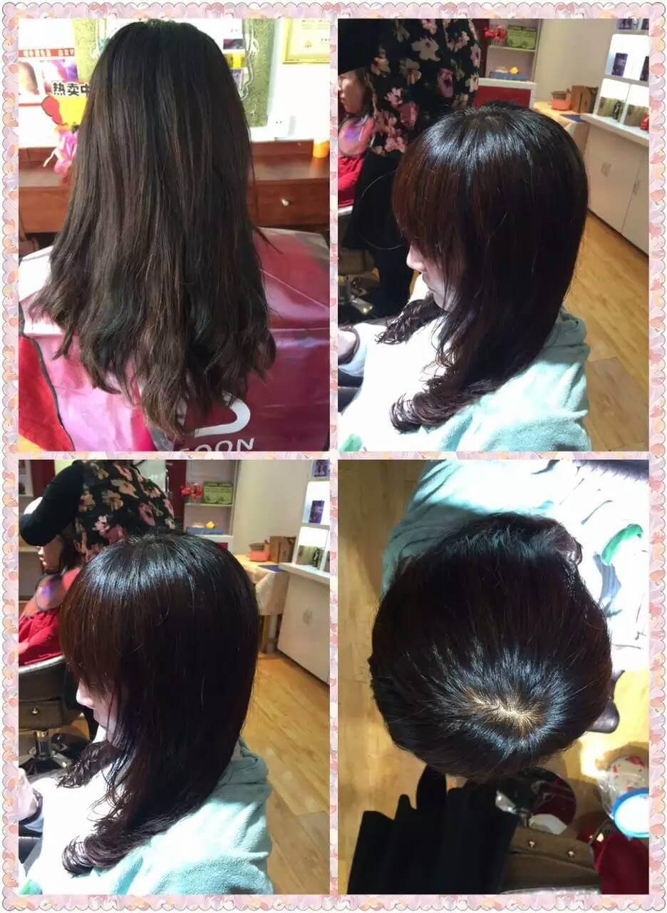 看海娜粉染发剂的效果 海娜粉染发的颜色怎样 海娜粉染发的效果好吗图片