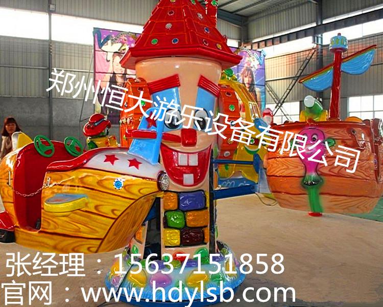 """""""大眼飞机""""是由郑州恒大游乐专为儿童所研发的一款旋转升降飞机类"""