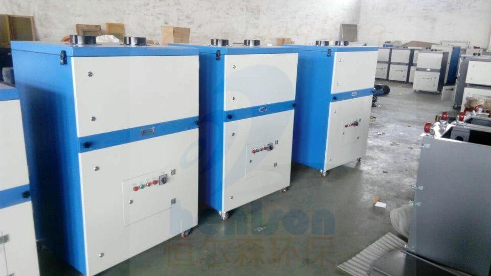 恒尔森焊接烟尘净化器处理家具生产产生粉尘的有利帮手