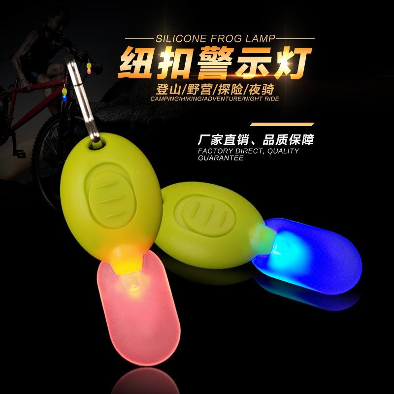 自行车小挂灯夜间骑行Led可挂单车上的夜行灯批发