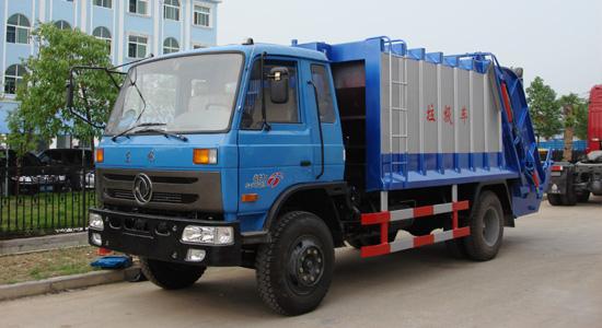 楚胜压缩式垃圾车支持环保,尾气排放达标