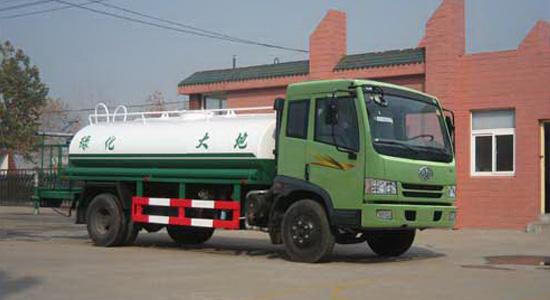 断气刹的汽车底盘与气刹的汽车底盘的区别 环卫绿化洒水车厂家告诉您高清图片
