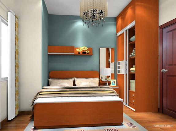 卧室衣柜什么颜色好看 装修设计