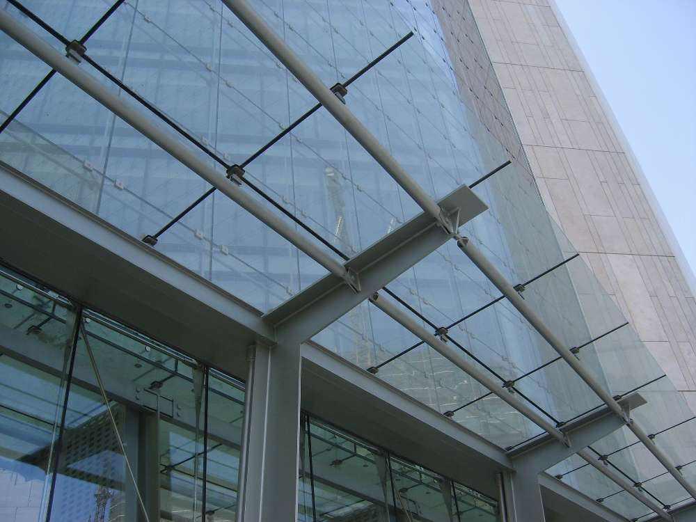 中山专业制作口碑好的钢结构玻璃雨棚厂家
