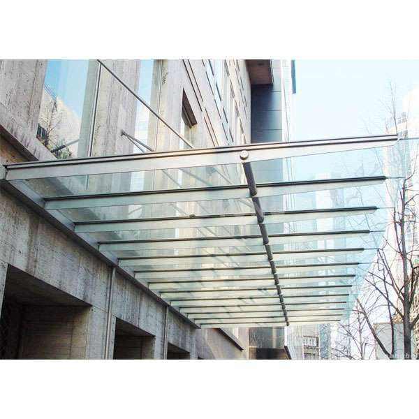 钢结构车棚 钢结构玻璃雨棚 膜结构车棚