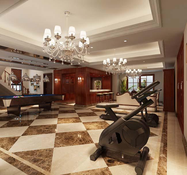 年最新欧式风格别墅装修效果图丨米克罗高端别墅装饰