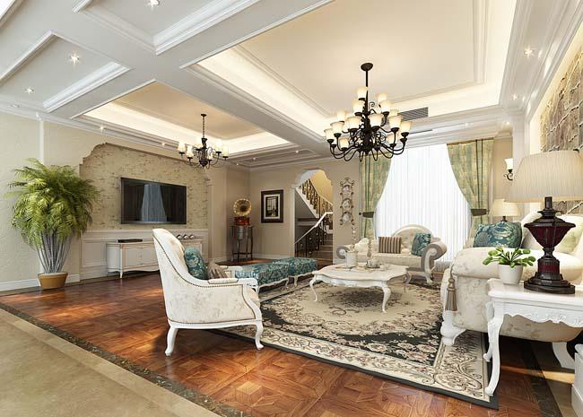 最新美式风格家庭装修样板间,尽在红蚂蚁高品质家装高清图片