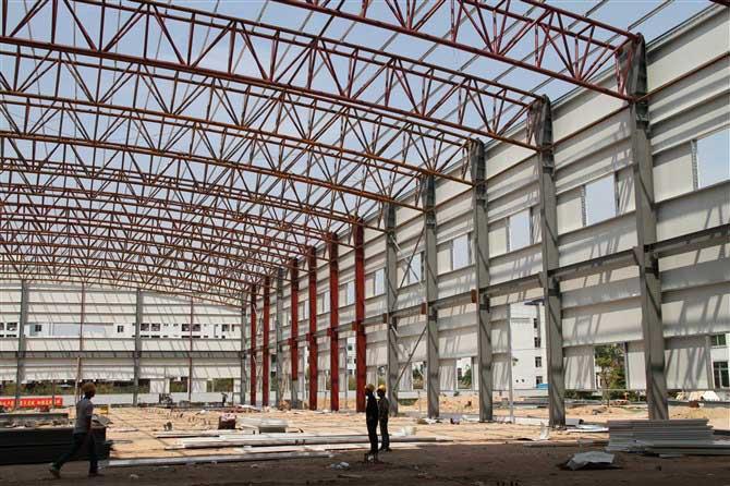 住宅,商业超市,体育场馆,候机(车)楼,飞机库等各类钢结构的建设.