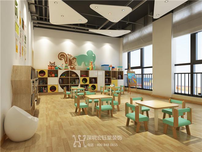 郑州宏钰堂专业少儿艺术教育培训机构装修公司