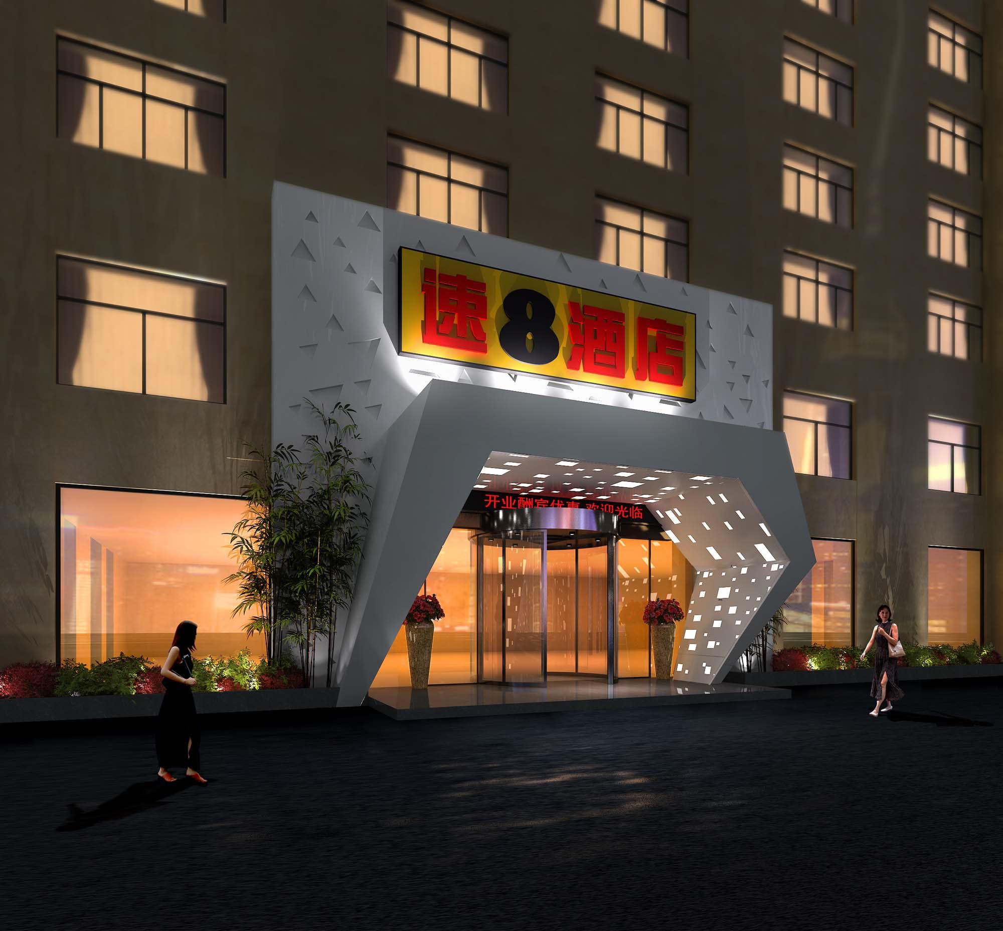 南京快捷酒店门头设计哪家独特