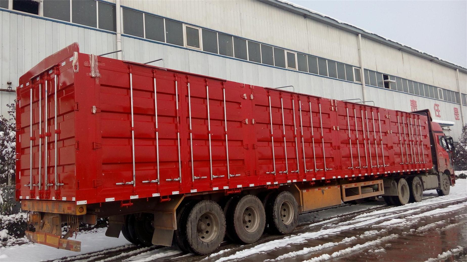 河南洛阳集装箱运输车厂的联系方式 15649612345高清图片