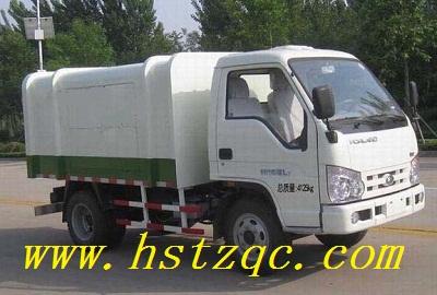 福田时代金刚自卸式垃圾车出厂价是多少 高清图片