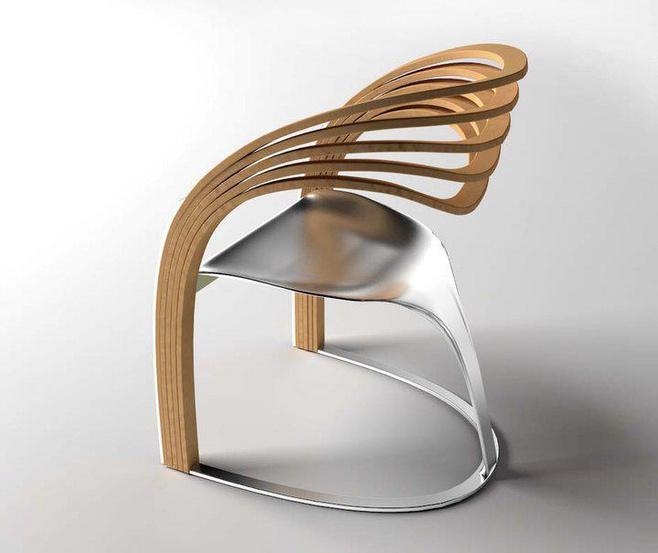 工业设计手绘凳子