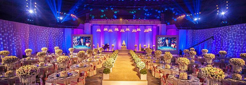 成都金色主题婚礼创意策划
