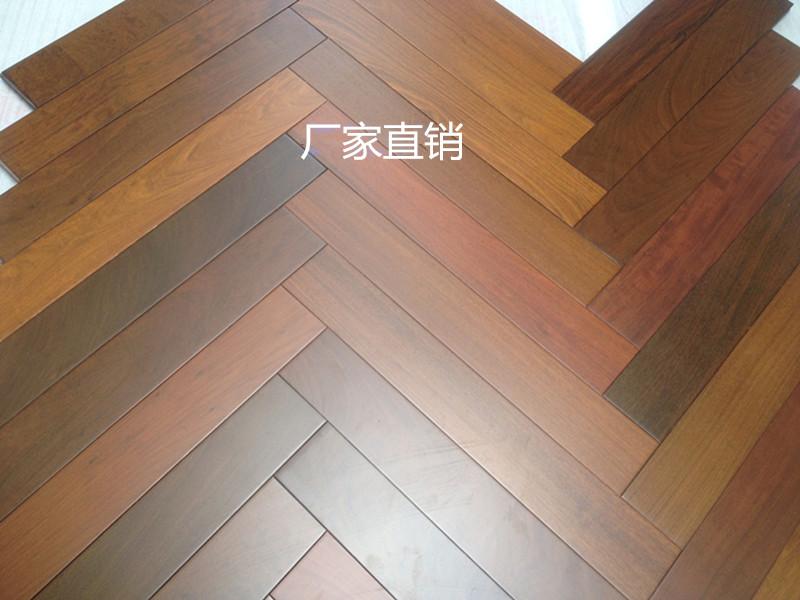 深圳哪里有特价紫檀人字拼木地板?