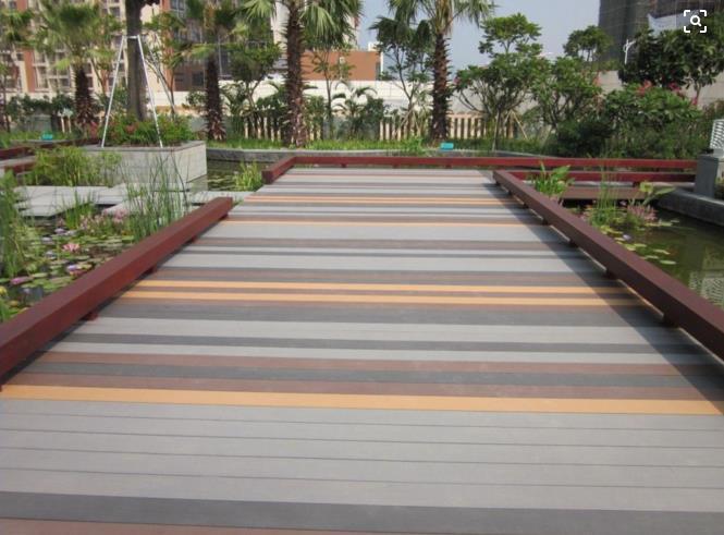 淮宿木塑地板优质塑木地板户外园林景观装饰地板绿色环保质量保证