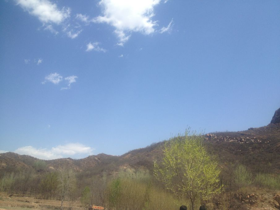 景区内千峰竞秀、万壑争奇、泉水潺潺、景色别致,春日山花烂高清图片