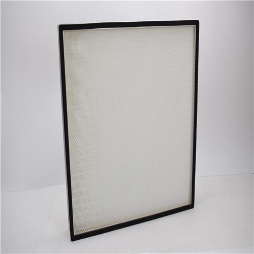 鋁框無隔板高效過濾器
