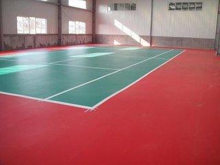 济南品质好的PVC运动地板 PVC塑胶地板 优选浩泽塑胶地板公司