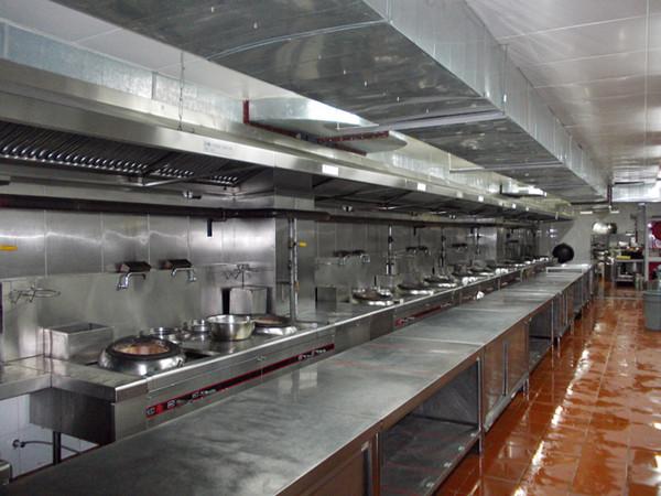 高规格厨房设备安装设计,快来围观惠东捷达厨具公司