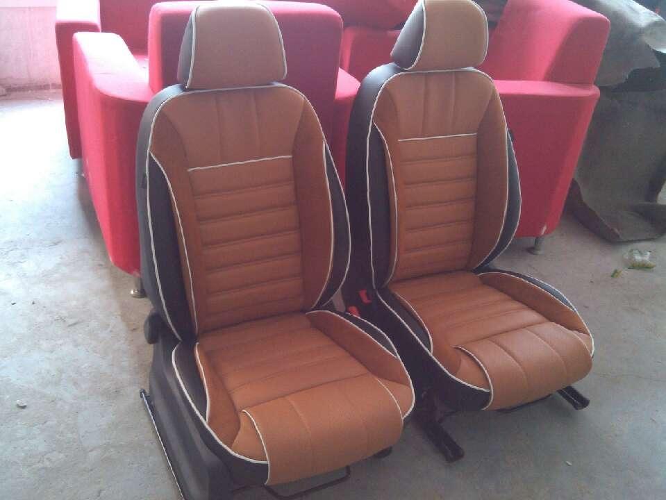 上海大众新款波罗车的改装豪华座椅高清图片