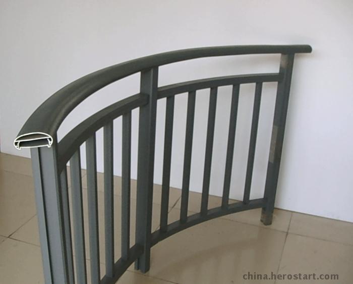 汕头铝合金护栏厂 广州铝合金护栏 惠州铝合金阳台护栏