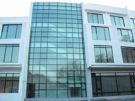 玻璃幕墙|钢结构玻璃幕墙图纸深化|钢结构安装实力厂家经验丰富