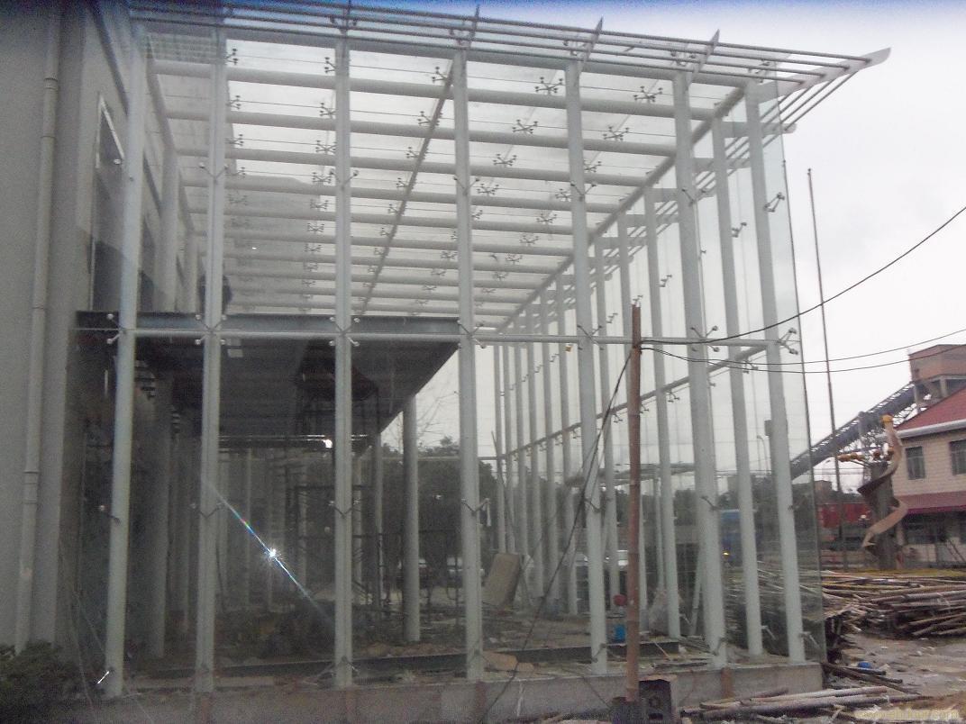 惠州钢结构雨棚 惠州玻璃雨棚 惠州阳光板雨棚