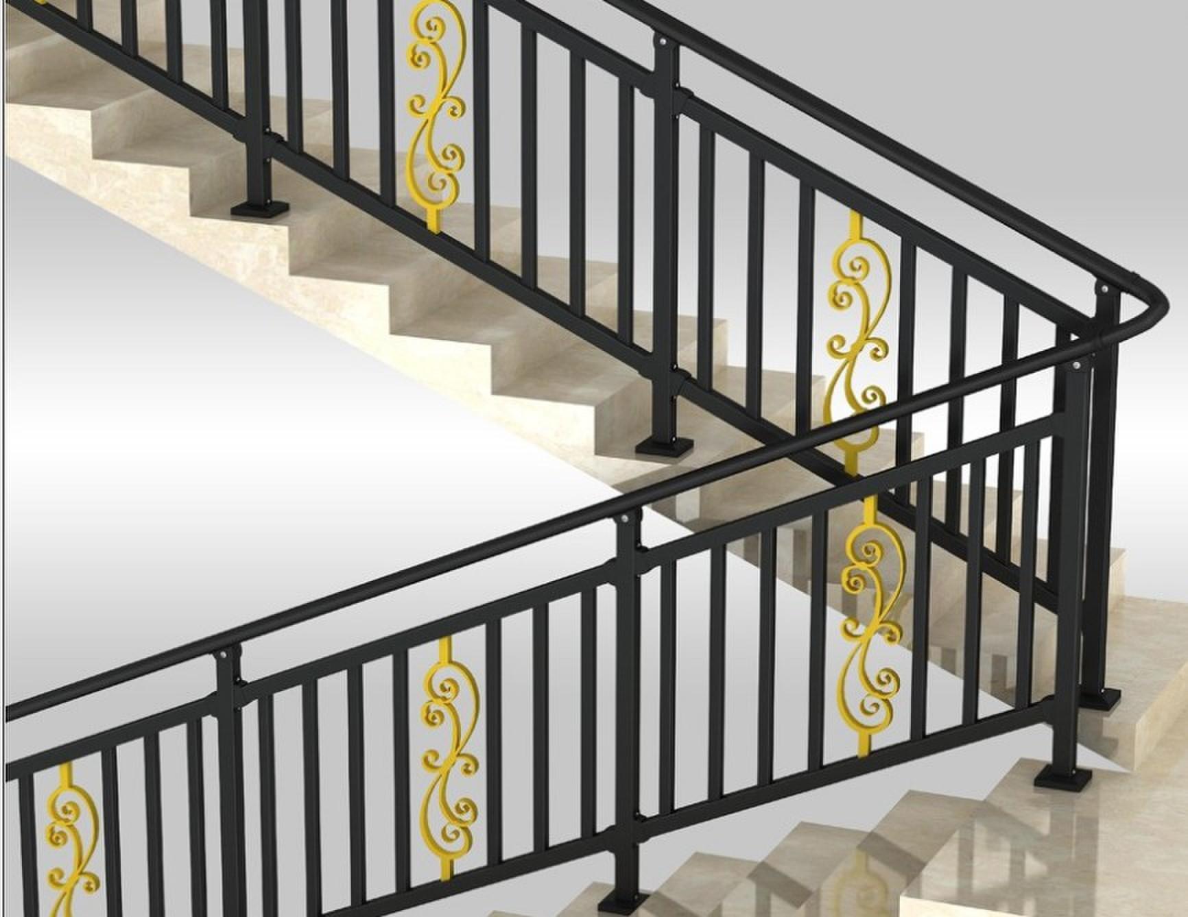 在东莞有别墅锌钢别墅楼梯的供应商?苏州中号1锐护栏图片