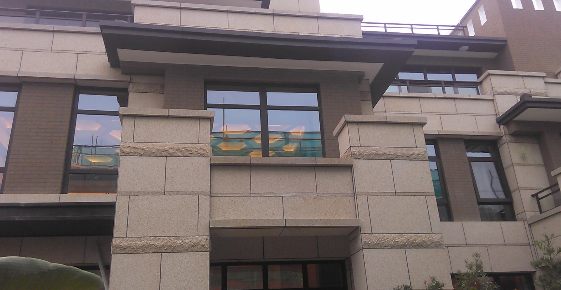 上海外墙石材外墙工程施工-别墅干挂石材加工图片东莞别墅奢华图片