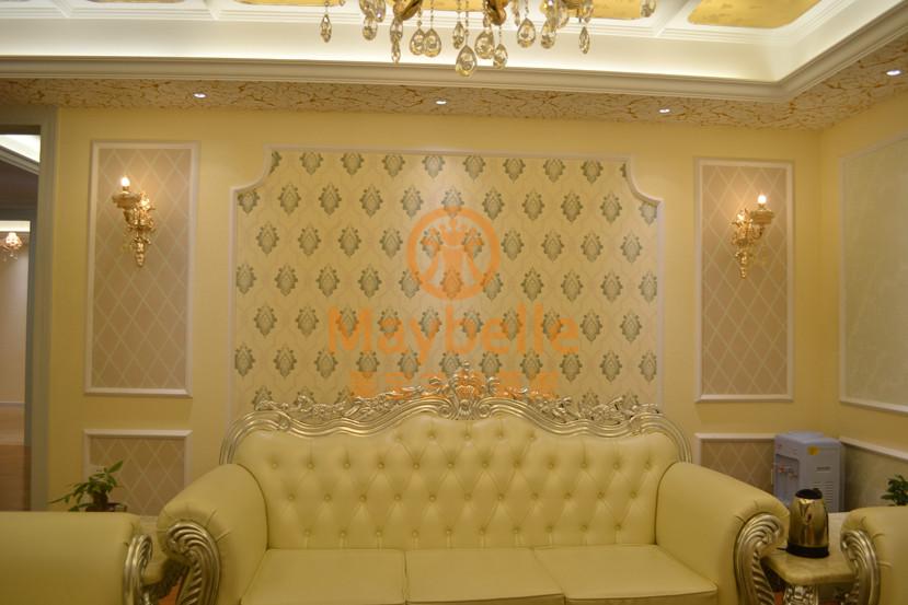 东莞硅藻泥电视背景墙施工|背景墙施工效果