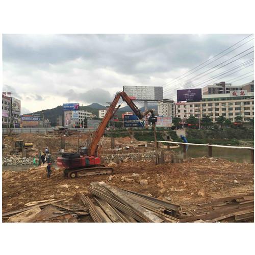 惠州钢板桩价格,文利钢板桩出租施工,一条龙服务