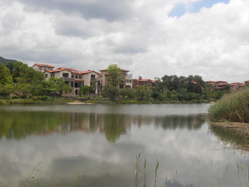 惠阳振业城自然环境优越·周边群山环抱·湖泊众多果树成林