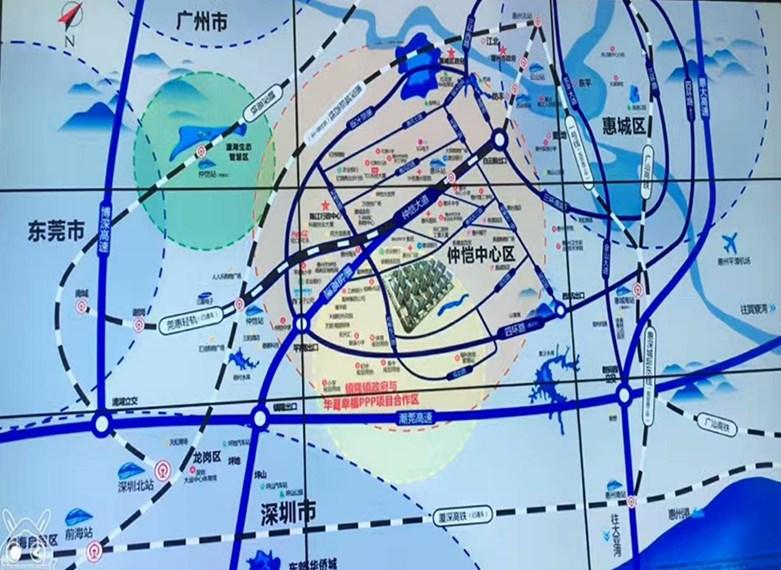惠州市仲恺地图
