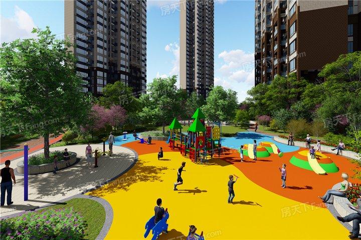 小区内部配套:幼儿园,小学,运动场地,健身设施,游泳池,会所