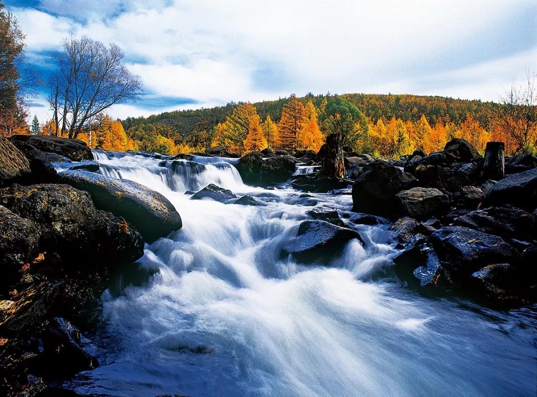 壁纸 风景 旅游 瀑布 山水 桌面 1080_798