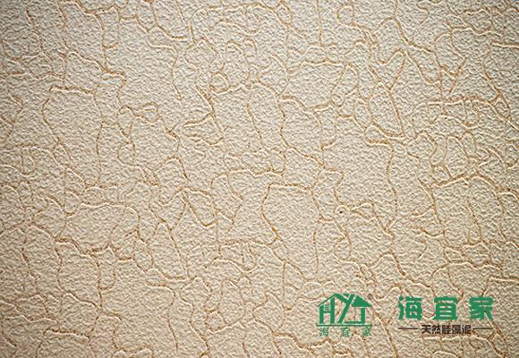 海宜家肌能硅藻泥滚筒压花