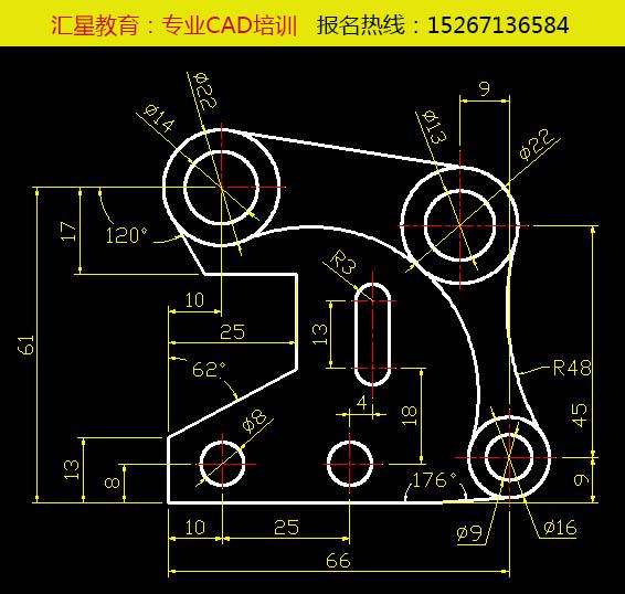 这个CAD图怎么画